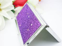 Bling Business Card Holder Women Bling Design Mirror Inside Card Holder Business Card Case