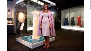 target black friday lady melania trump donates her inaugural gown to the smithsonian