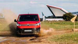 new citroen dispatch citroen dispatch wants to prove its agility in wrc test