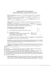 contract contract assignment form