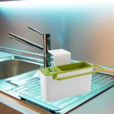 popular furniture kitchen storage buy cheap suction cup base kitchen brush sponge sink draining towel rack washing holder storage furniture