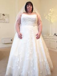 wedding day dresses slimmer sheds ten before wedding day after struggling