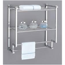 gifts u0026 decor nantucket home white bathroom wall shelf towel