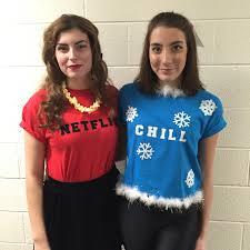 netflix u0026 chill diy costume halloween2015 netflix u0026 chill