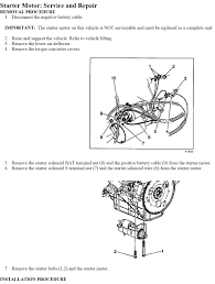 how to replace 2004 chevy impala starter