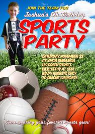sports themed birthday invitations u2013 gangcraft net
