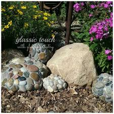 Garden Rock River Rock Mosaic Garden Rock Glassic Touch