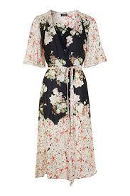topshop dress floral print belted wrap dress dresses clothing wrap dresses