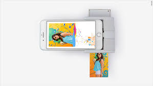 this gadget prints photos from your iphone with an augmented
