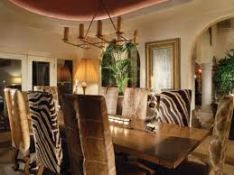 Colonial Dining Rooms Animal Print Room Chairs Leopard Chairs - Animal print dining room chairs