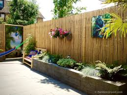Patio Fence Ideas by 26 Bamboo Fencing Ideas For Garden Patio Or Balcony Pertaining To