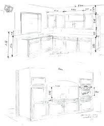 hauteur de meuble de cuisine amenagement du0027une enchanteur hauteur meuble de cuisine idées
