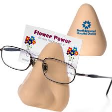 Promotional Business Card Holders Nose Eyeglass Business Card Holder Promotional Nose Eyeglass