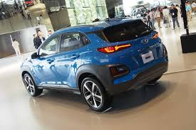 hyundai unveils small yet stylish kona suv suvs com