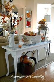 How To Decorate A Sofa Table S Console Behind Decorating Ideas End