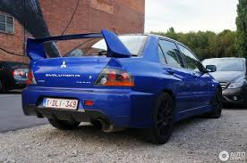 mitsubishi blue mitsubishi lancer evolution ix fq 340 1 september 2017 autogespot