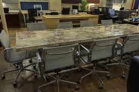 Granite Conference Table Custom 10 U0027 Faux Mica Top Conference Tables With Chrome Base