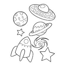 10 spaceship coloring pages toddlers