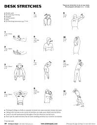 Office Exercises At Your Desk Workouts At Your Desk Office Desks Fitness Printable