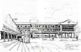 architecture sketch u2013 university of the west indies in st