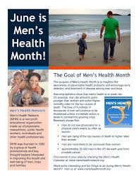 men s posters mens health month