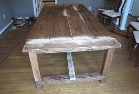 Rustic Farmhouse Dining Table With Bench Dining Room Intriguing Rustic Dining Room Furniture Houston