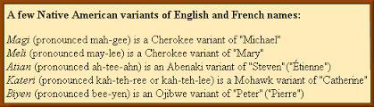 native american baby names for english speakers