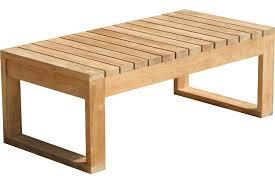 Garden Coffee Table Extending A Teak Coffee Table Dans Design Magz