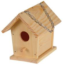 amazon com build a bird house childrens wood craft kits