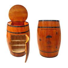 oak barrel wine rack wooden bucket homebrew home decoration beer