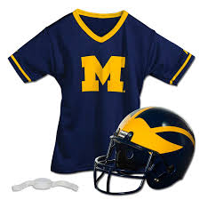 Custom Flag Football Jerseys College Football Youth Helmet U0026 Jersey Set Franklin Sports