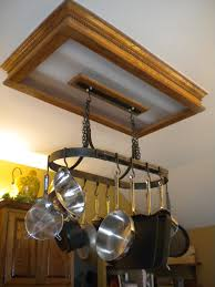 Kitchen Hanging Pot Rack by Hanging Iron Pot Rack With 10 Hooks Hand Forged By A Blacksmith