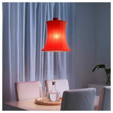 bedroom sets the stunning red lamp shade as the decoration of