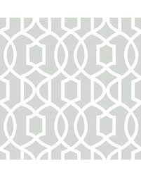 Peal And Stick Wall Paper Fall Is Here Get This Deal On Wall Pops Nu1421 Gray Grand Trellis