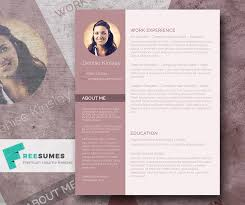 Free Resume Templates For Download Modern And Chic U2013 A Photo Resume Template Giveaway
