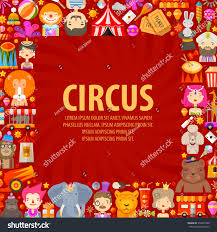 circus vector logo design template clown stock vector 330957428