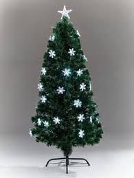 5ft fibre optic snowflake tree co uk