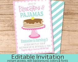 pancakes and pajamas birthday pancake hat sleepover