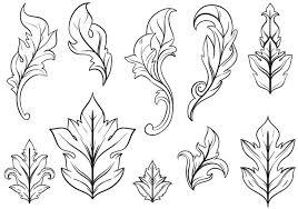 free floral ornaments vectors free vector stock