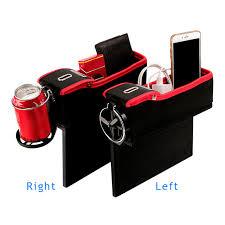 siege pour console mode de voiture console siège boîte de rangement coin côté poche