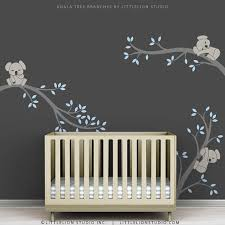 Nursery Wall Decals Canada Koala Tree Boy Nursery Wall Decals Branch Amazing International