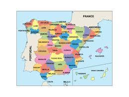 Granada Spain Map by Spain Maps Digitalmaps Co Uk By Netmaps Vector U0026 Wall Maps