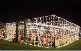 wedding tent lighting outdoor reception tents bisou weddings and events