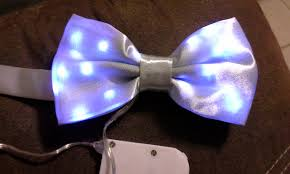 light up bow tie led bowtie version 2 wearables workshop