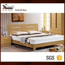 Mdf Bed Frame Source New Simple Design Melamine Mdf Wooden Modern Bed On