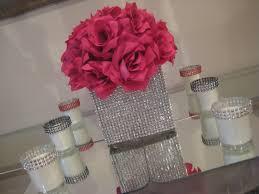 Cube Vase Centerpieces by Unxia Bling Cube Vase