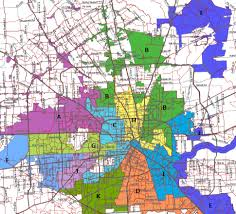 houston map districts houston map by cities
