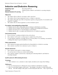 inductive and deductive reasoning 9th 12th grade lesson plan