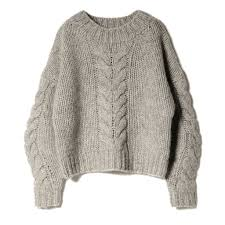 cable sweater chunky cable sweater grey pilgrim surf supply