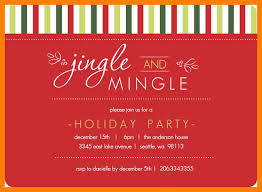 Christmas Office Party Invitation Templates